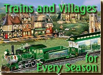 Click to see collectible trains that celebrate St. Patrick's day, Independence Day, and many more holidays.