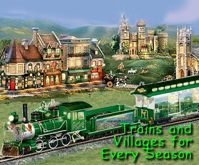 Every Season Display Trains and Villages