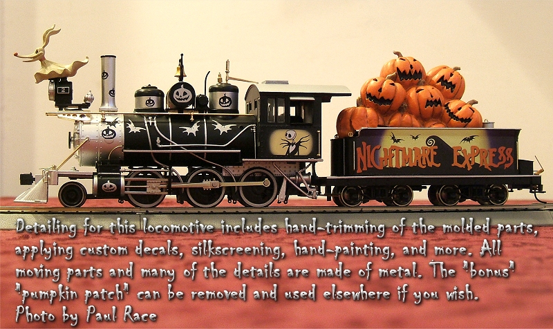 Nightmare Before Christmas Train Set