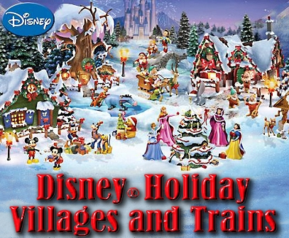 Disney® Holiday Villages and Trains
