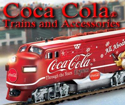 Coca Cola Hawthorne Village Subscriber Collectable Train
