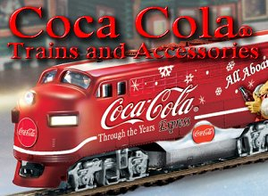 Coca Cola Collectible Christmas Train Subscription