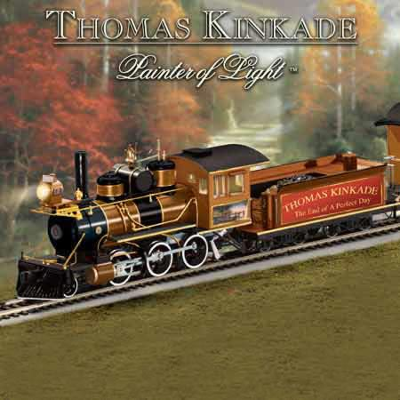 The End Of A Perfect Day Locomotive is not only a handcrafted collector's item - it