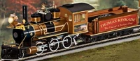 The End Of A Perfect Day Locomotive is not only a handcrafted collector's item - it is also a solid model with all-metal moving parts and many metal details.   Click for a bigger picture.
