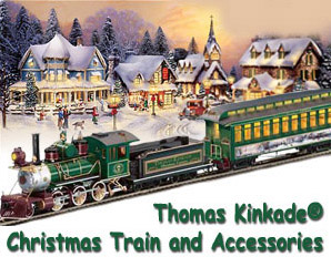 Thomas Kinkade Christmas Express Train Subscription Plan