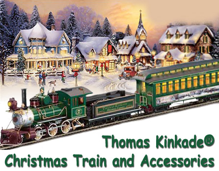 Hawthorne Village Thomas Kinkade Subscriber Collectable Train