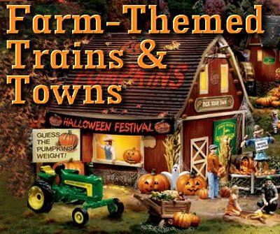 Farm-Themed Trains and Towns