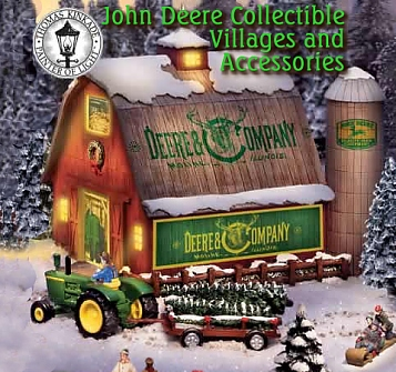 John Deere Seasonal Collectible Villages and Accessories