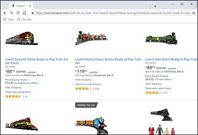 Click this picture to see more Lionel Ready-To_Play train sets on Amazon.