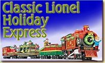 New for Christmas, 2006! Lionel Holiday Traditions train.