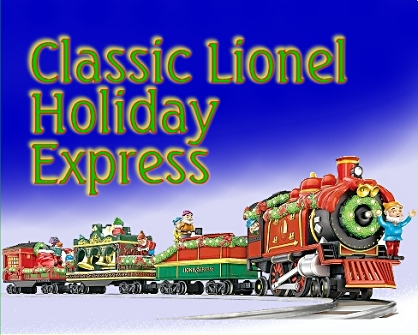 Large Scale Christmas Trains and  Accessories