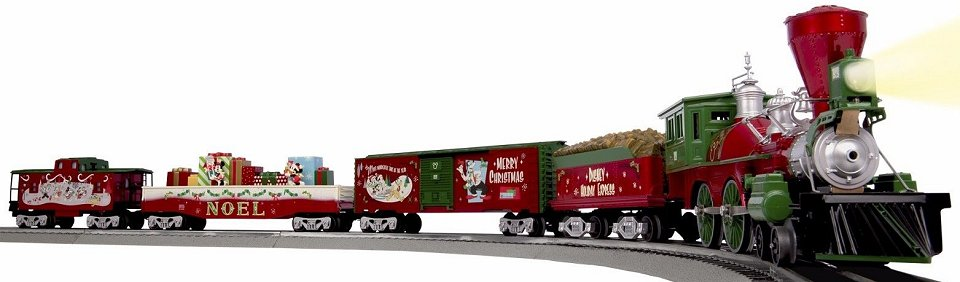 lionel mickeys holiday to remember disney christmas train set