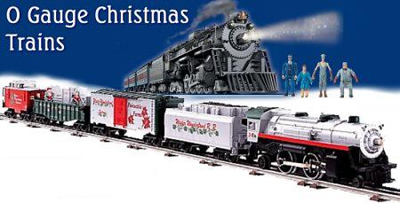 O scale train christmas accessories