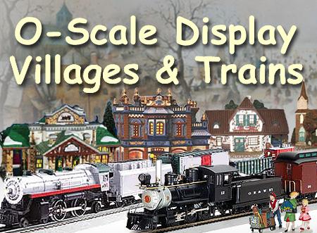 O scale christmas train cars