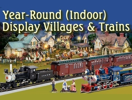 On30 Display Trains and Villages