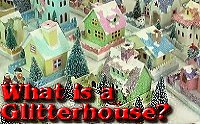 Click to learn about vintage cardboard Christmas houses.
