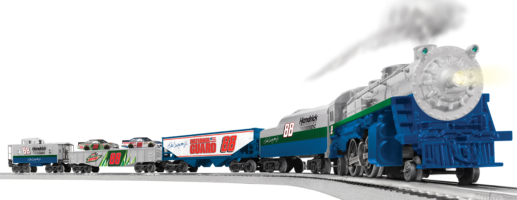 lionel trains dale earnhardt jr ready to run electric train set